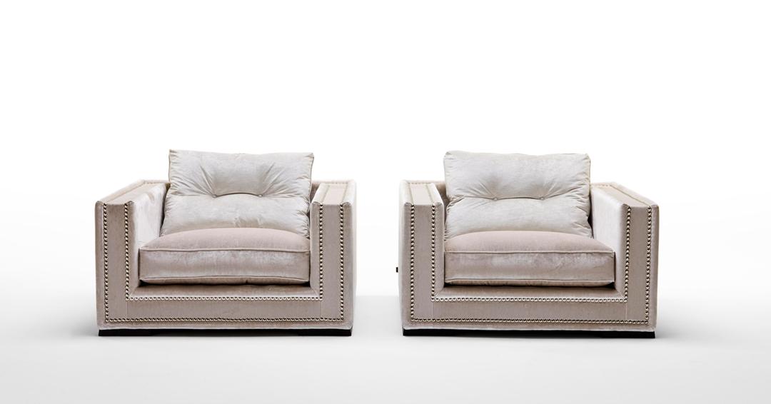 muebles de lujo a medida: personalizar sillón